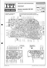 ITT/Graetz Service Schaltplan für Recorder 82 hifi