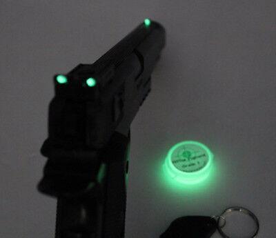 GUN SIGHT glow in the dark Paint, Scope Marker Glowing pigment Paint kit mix