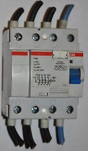 ABB-Interrupteur-Differentiel-Automatique-4-Broches-63A-300mA-F364-63-0-3-RCCB
