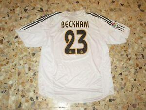 Maillot-jersey-shirt-camiseta-trikot-BECKHAM-23-REAL-MADRID-2003-2004-ADIDAS