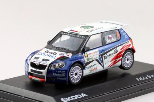 Skoda fabia wrc s2000 rally 2010 #4 1:43 Abrex maqueta de coche ab603tg
