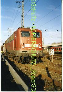 DBAG E-Lok 140 665-1 2003 Mannheim Hbf. FOTO (*10703)