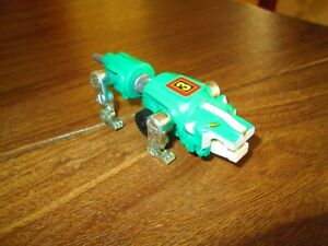Vintage-Voltron-1984-LJN-Toy-Lion-Force-Green-Lion-Made-in-Macao-Snap-Together