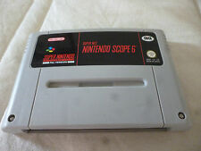super nintendo SNES  scope 6 GIG
