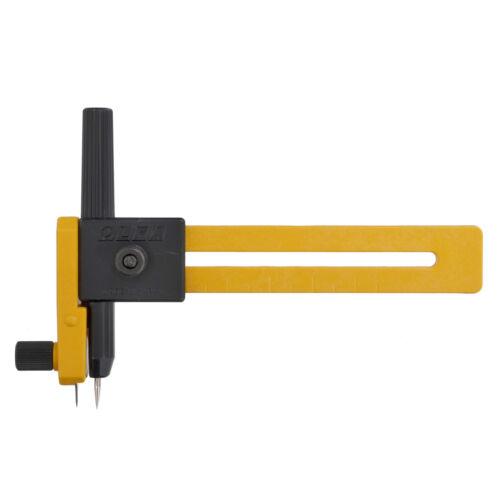 Cortador Brújula 1x hasta 15cm//6in Herramienta de Costura Artesanía Hobby Art Reino Unido a granel filoro