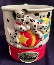 "Walt Disney Enterprises World on Ice 101 Dalmatians Mug 4"" Tall Dalmations"