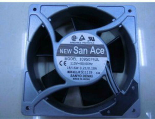 NEW SANYO 109S074UL 115V 18//16W 120*120*38MM FAN #C0M