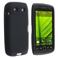 Silicone Skin Case for Blackberry Torch 9850/9860 - Black