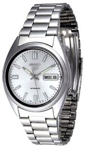 Seiko-5-Automatic-SNXS73-SNXS73K1-Men-Day-Date-Stainless-Steel-Watch