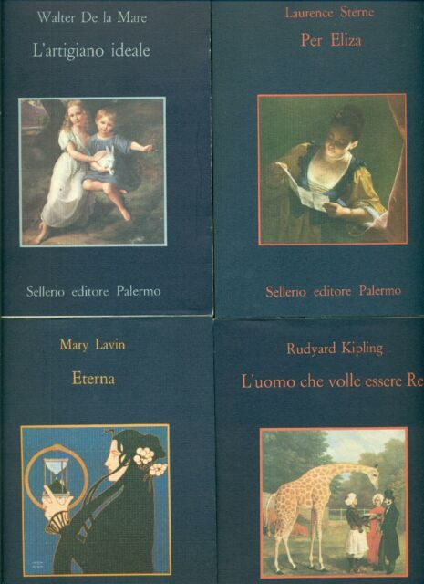 DE LA MARE, Walter J., L'artigiano ideale. Sellerio + 3 libri autori inglesi