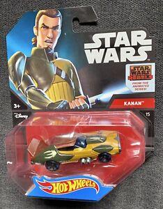 Hot-Wheels-de-Mattel-Star-Wars-1-64-scale-die-cast-Kanan-caracter-de-coche-NUEVO