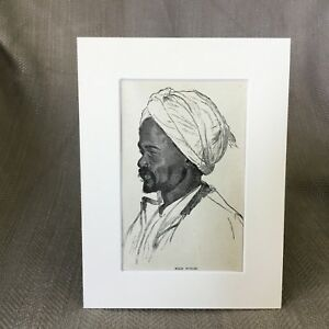 1890-Antique-Print-Nubian-Gentleman-Portrait-Native-African-Africa