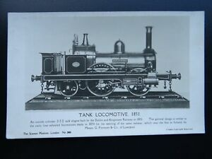 D-amp-K-Railway-Transport-c1851-Alexandra-TANK-LOCOMOTIVE-2-2-2-c1950s-RP-Postcard
