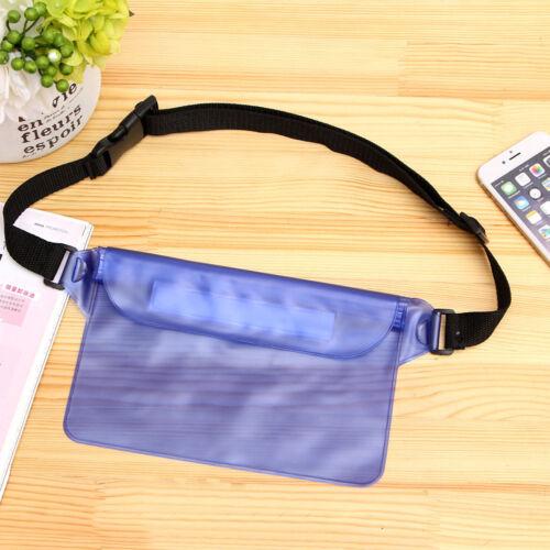 Waterproof Clear PVC Bum Travel Belt Bag Hip Pouch Waist Pack Bag Fanny Bag New