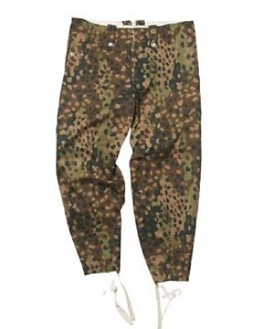 Wehrmacht WWII Pantalon Pantalon Gerhomme Army Erbsentarn Pants Camouflage wk2 T 54
