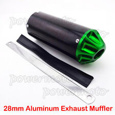 28mm Aluminum Exhaust Muffler For CRF50 XR50 SSR Pit Dirt Bike 50cc 110cc 125cc
