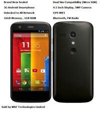Motorola Moto G XT1033 Dual Sim 3G Android Wifi GPS Unlocked Smartphone - 16GB