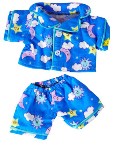 """Shining Star and 8/""""-10/"""" Make Your Sunny Days Blue Pj/'s Fits Most 8/""""-10/"""" Webkinz"""