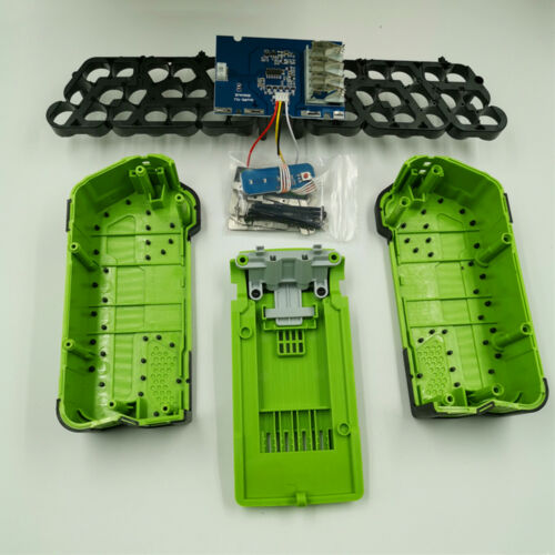 40V Li-ion Batterie Gehäuse Case Cover Shell PCB Board für Greenworks Lawn Mower