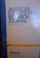 American Educational Research Journal Vol. 51 No. 2 April 2014 AERA new