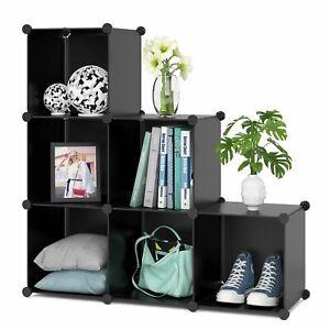 Details about Muebles Para Cuarto Armario Modular Estante Para Libros  Organizador De Zapatos