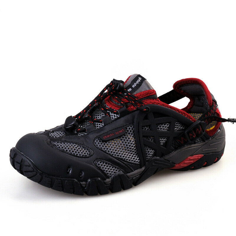 Mens Outdoors Water shoes Hiking Non-Slip Sport Casual Mesh Breathable shoes