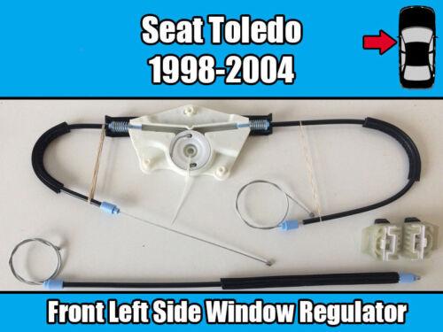 SEAT TOLEDO MK1 1998-2004 Avant Gauche Fenêtre Régulateur Réparation Kit