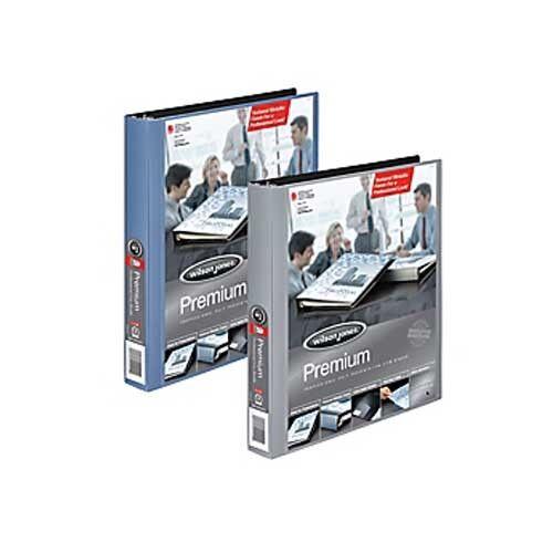 New Wilson Jones 1 2  Premium colord View Metallic Binders - 12pk