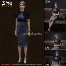 """1/6 The Avengers Agent Maria Hill Clothes Suits Set For 12"""" Female Body Figure"""