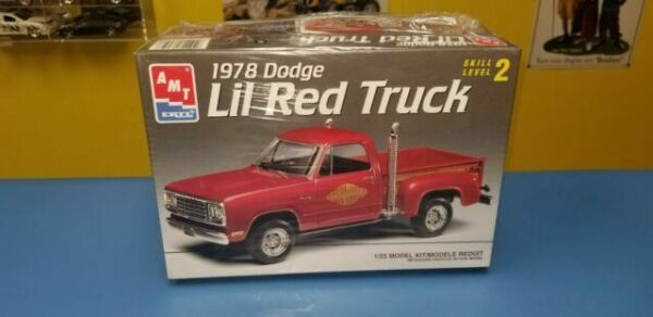 77 78 Dodge D100 Pickup Truck 1//25 Lil Red Express grille grill new part model