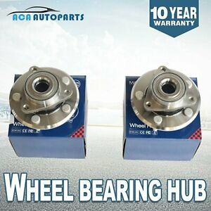 2-Front-Wheel-Hub-Bearing-Assembly-For-2002-2008-Dodge-Ram-1500-2WD-4X4-4WD