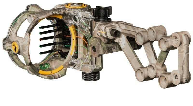 NEW TROPHY RIDGE REACT H5 .019 RIGHTHAND REALTREE XTRA CAMO SIGHT  AS855XTRA