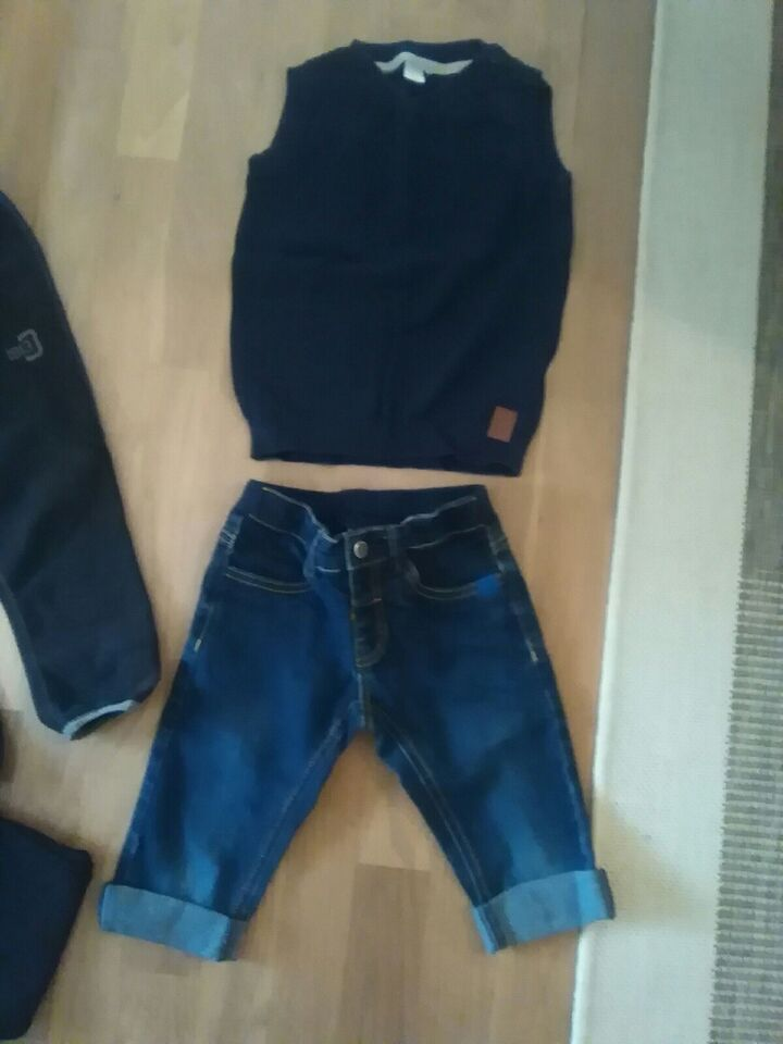 Blandet tøj, Denim fløjl bomuld, LEGO MOLO NAMEIT HM