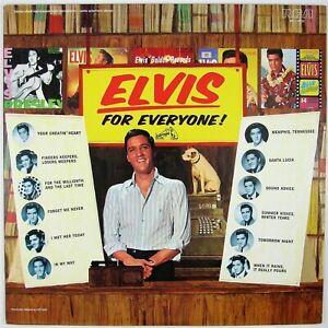 ELVIS-PRESLEY-Elvis-For-Everyone-LP-1982-RE-ISSUE-ROCK-NM-NM