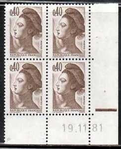Coin Daté Liberté N° 2183 Du 19/11/1981 **