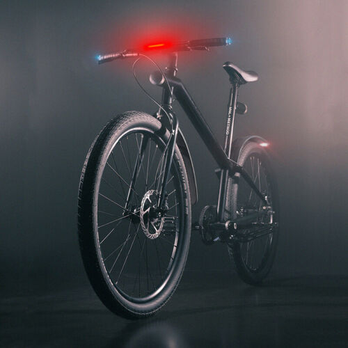 USB Rechargeable Bike Front Head Light Cycling Bicycle LED-Lamp Outdoor Riding