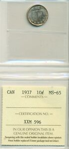 ICCS-CAN-1937-10-cents-MS-65-XXM-596
