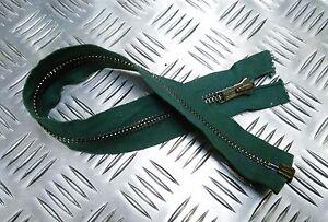Genuine-British-Military-ANF-17-034-Open-End-Green-Zip-Zipper-H-Duty-ZPM58