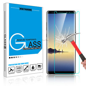 For Samsung Galaxy Note 8 Tempered Glass Screen Protector Clear 9H