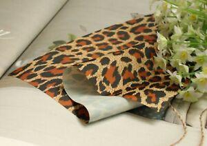 Leopard-animal-print-WATERPROOF-fabric-BY-THE-YARD-lightweight-raincoat-JBW13