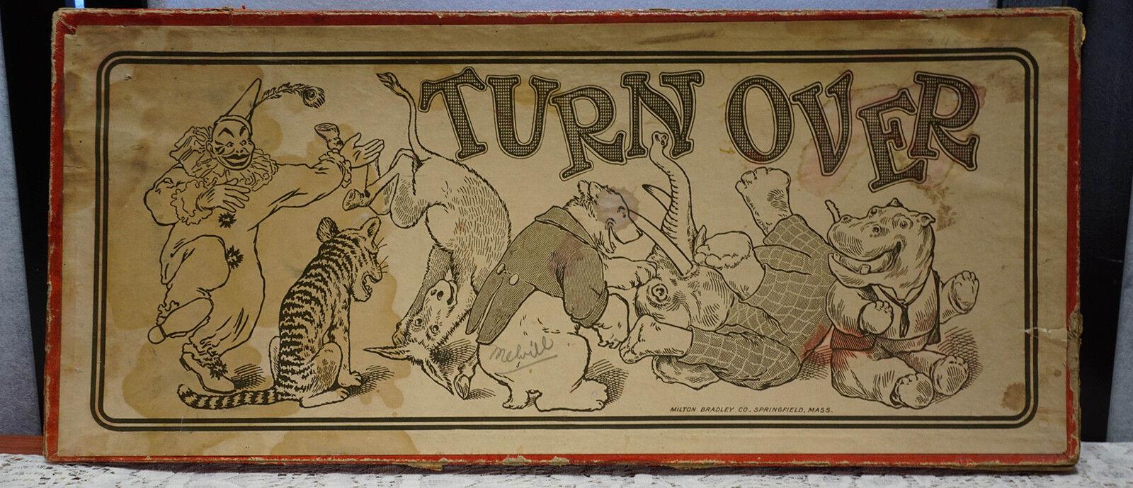 1908 TURN OVER Jumping Bean Foxy Grandpa Katzenjammer Captain and the Kids