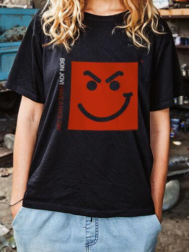 BON JOVI T-Shirt Have A Nice Day Size S OFFICIAL MERCHANDISE