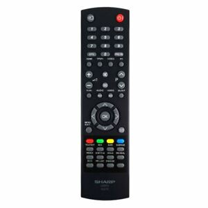 Nuevo-Original-Sharp-LC-26SHTE-BK-Mando-a-Distancia-Tv