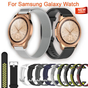 For-Samsung-Galaxy-Watch-Silicon-Wrist-Strap-WristBand-Bracelet-Milanese-Loop
