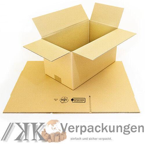 25 Faltkartons 360x200x200 Kartons Versandkartons NEU