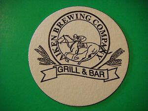 Bière Dessous De Verre ~ Aiken Brewing Co,grill & Barre ~ Caroline Du Sud ; Zln45bmm-07214401-735004588