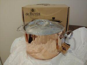 De Buyer Inocuivre 6443 24 24cm 9 5 Quot Copper Stainless Pot