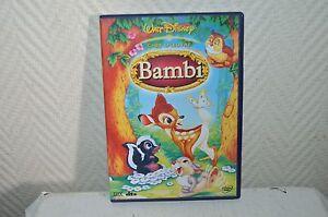DVD Walt Disney Bambi Chef De Arte Película N º 5