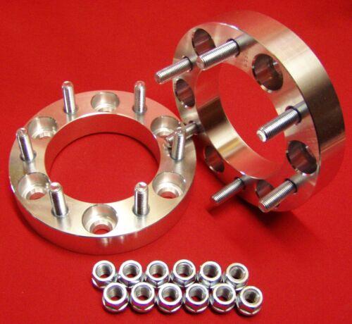 "6 lug WHEELS SPACERS ADAPTERS MACHINED 1.5/"" fit 2000-2004 Nissan Xterra"