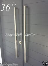 "36"" Front Door Entry Pull Handle Modern Set Hardware knob entrance glass"